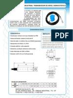 TRANSMISSOR HIDROSTÁTICO 4~20 mA