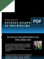 Metodos Volumetricos de Precipitacion