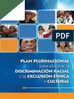 Plan Plurinacional Para Eliminar La Discriminación Racial