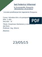 Empresas Harineras y Conserveras Del Perú