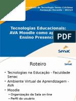 apresentacao tecnologias educacionais