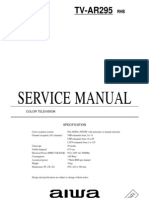 Aiwa Tv Service Manual