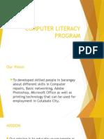 Computer Literacy Program