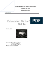 Lab 1 Extracion de Cafeina