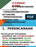 III Fungsi Manajemen