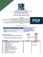 Edital Verticalizado INSS Técnico 2011 Versão 1.4