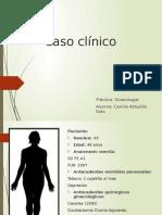 Caso Clínico, Quiste inclusión peritoneal