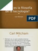 Qué Es La Filosofía de La Tecnología de Mitcham