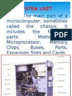 Parts of System Unit