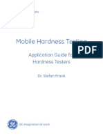 Mobile Hardness Testing - Application Guide for Hardness Testing