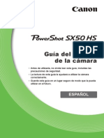 PowerShot SX50 HS Camera User Guide ES