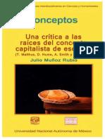 Muñoz Rubio Julio - Conceptos - Una Critica a Las Raices Del Concepto Capitalista de Escasez