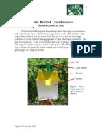 Brambila Et Al 2014 Protocol Plastic Bucket Traps
