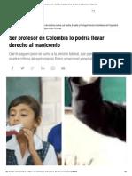 Ser Profesor en Colombia Lo Podría Llevar Derecho Al Manicomio _ Pulzo