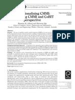Operationalising CMMI