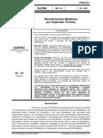 N-2568 (Revestimentos Metálicos Por Aspersão Térmica) (2)