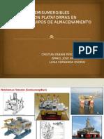 Plataformas Semisumergibles Comparacion Con Plataformas en Superficie y