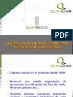 Geomallas de Fibra de Vidrio Para Refuerzo de Carreteras - Quinimar