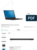 Inspiron 15 3558 Laptop Reference Guide en Us