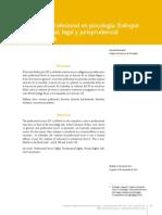 Articulo - El Secreto Profesional en Colombia Enfoque Legal (Hernandez,2013)