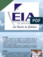 plan de estudios escuela de Ingenieros de Antioquia