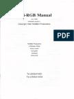 Vidi-rgb Manual v1 July 1990