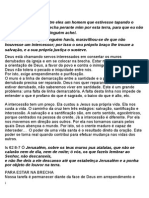 A Intercessao - Manual. Estudos