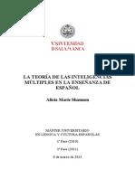 inteligencias multiples en la enseñanza en español