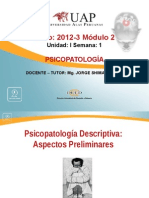 SEMANA - I Psicopatología Descriptiva.ppt