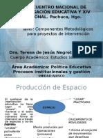 Componentes Metodológicos DRA. NEGRETE