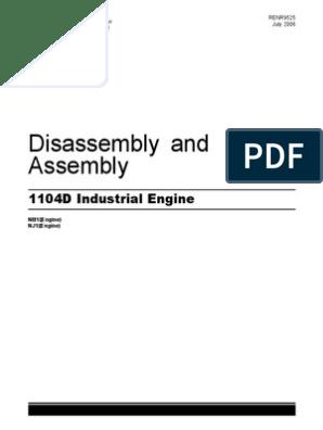 Repair Manual - Engine - PERKINS 1104D Industrial Engine (2