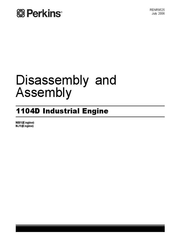 repair manual engine perkins 1104d industrial engine 2 fuel rh es scribd com perkins 1104c workshop manual pdf perkins 1104 service manual