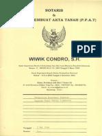 Akta Perubahan Kedudukan Ketua Yayasan Gni 1-2014