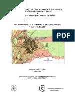 Microzonificacion Sismica Villavicencio