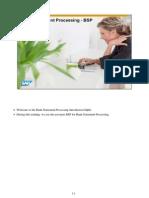 Bank Statement Processing - SAP B1 9.0