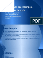 Manejo de Preeclampsia Severa- Eclampsia