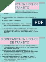 Biomecanica en Hechos de Transito