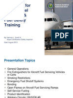 Aviation Fuel Servicing Safety