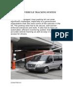 Rfid Based Vehicle Tracking System