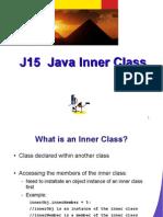 J15 Java Inner Class
