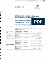 Specification Erection Static Equipment