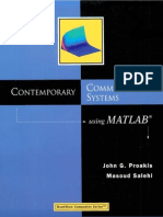 Contemporay Communication Systems Using Matlab