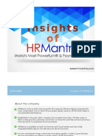 Insight Of HRMantra