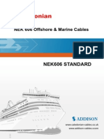 NEK606 Offshore & Marine Cables