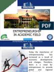 entrepreneurship in academic field