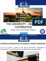 university - industry cooperation
