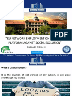 eu network employment on youth eu platform against social exclusion