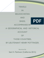 Travels in Beloochistan and Sinde (Sindh)  - 1816