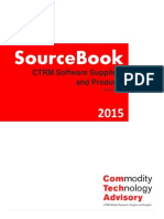 Sourcebook 2015 - CTRM Software Suppliers and Products
