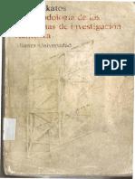 La metodología de los programas de investigación científica. Imre Lakatos